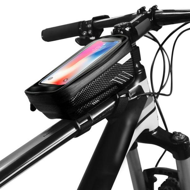 Bicycle MTB Cycling Bike Front Top Tube Frame Bag Waterproof Phone Holder Case