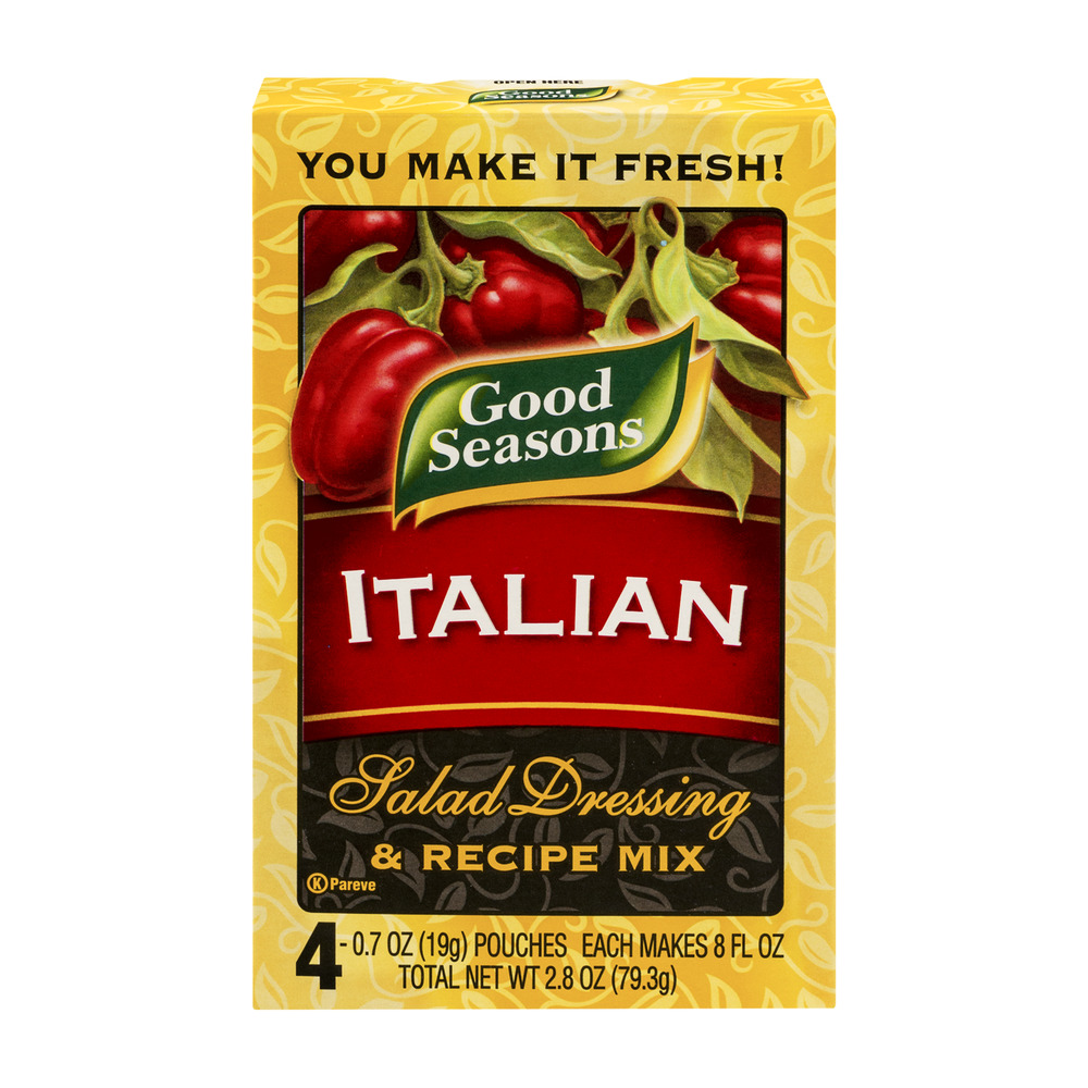 Good Seasons Italian Salad Dressing & Recipe Mix - 4 CT