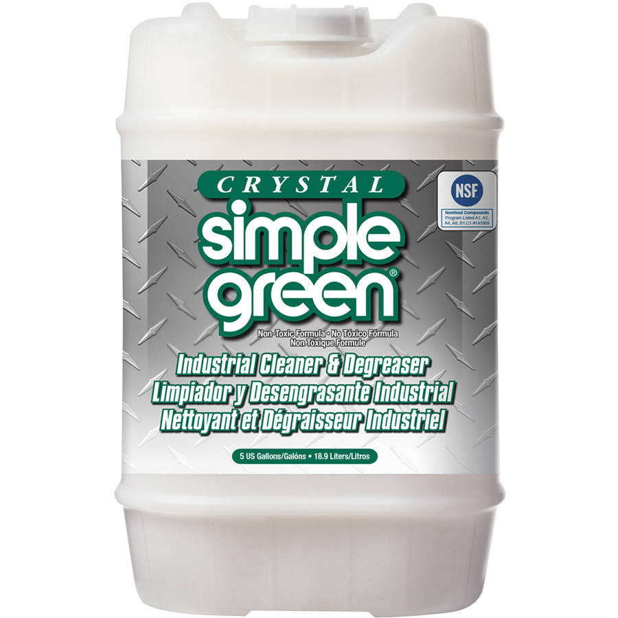 Crystal Simple Green Industrial Cleaner & Degreaser, 5 gal