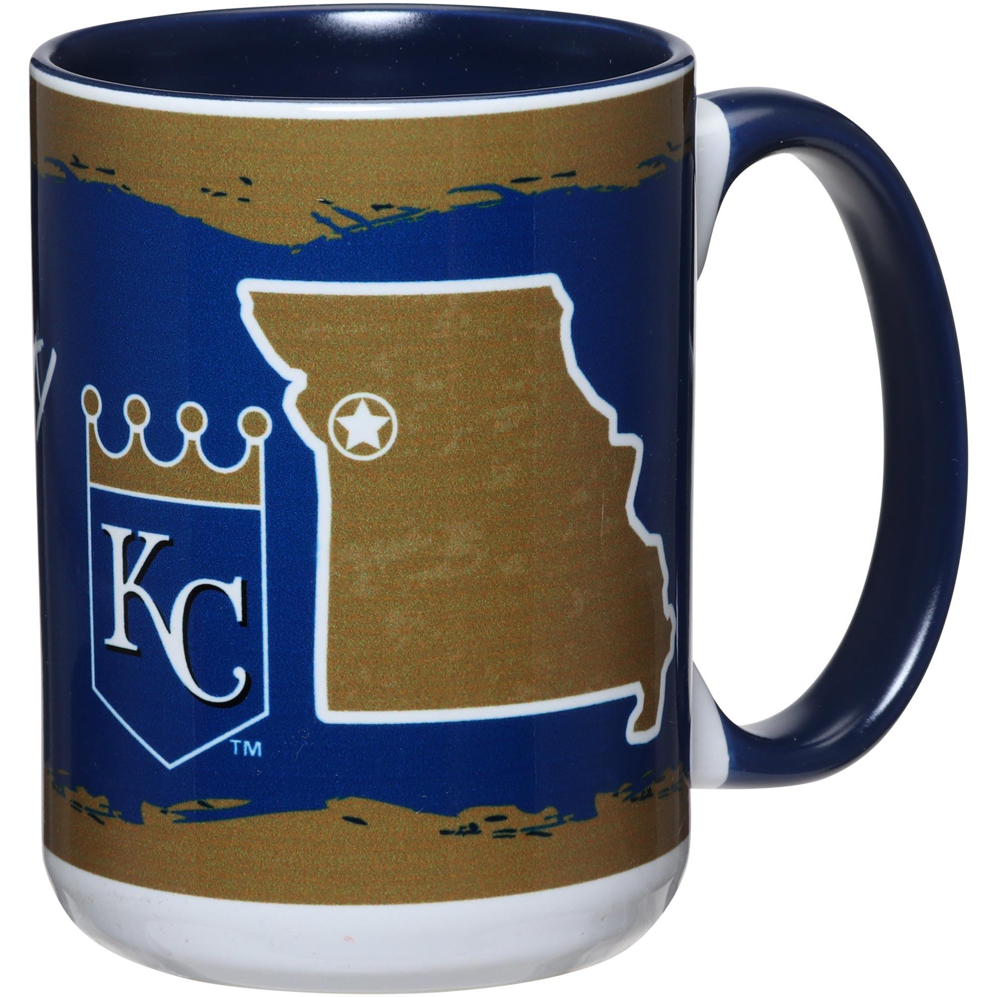 Kansas City Royals 15oz. It's Your State Of Mind Mug - No Size
