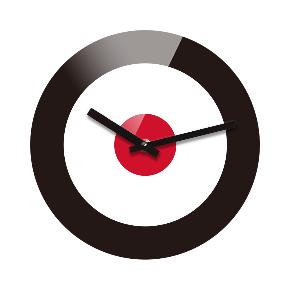 Silent wall clock target reflex nonticking silent acrylic wall clock target walmartcom amipublicfo Image collections