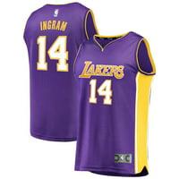 ab318564818 Product Image Brandon Ingram Los Angeles Lakers Fanatics Branded Youth Fast  Break Replica Jersey Purple - Statement Edition