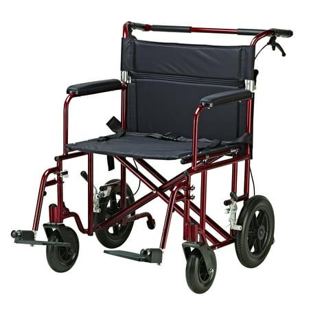 Drive Medical Bariatric Heavy Duty Transport Wheelchair Bariatric Transport Wheelchair