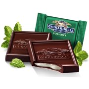 Ghirardelli Bulk Dark Chocolate Mint Squares (3 pound)