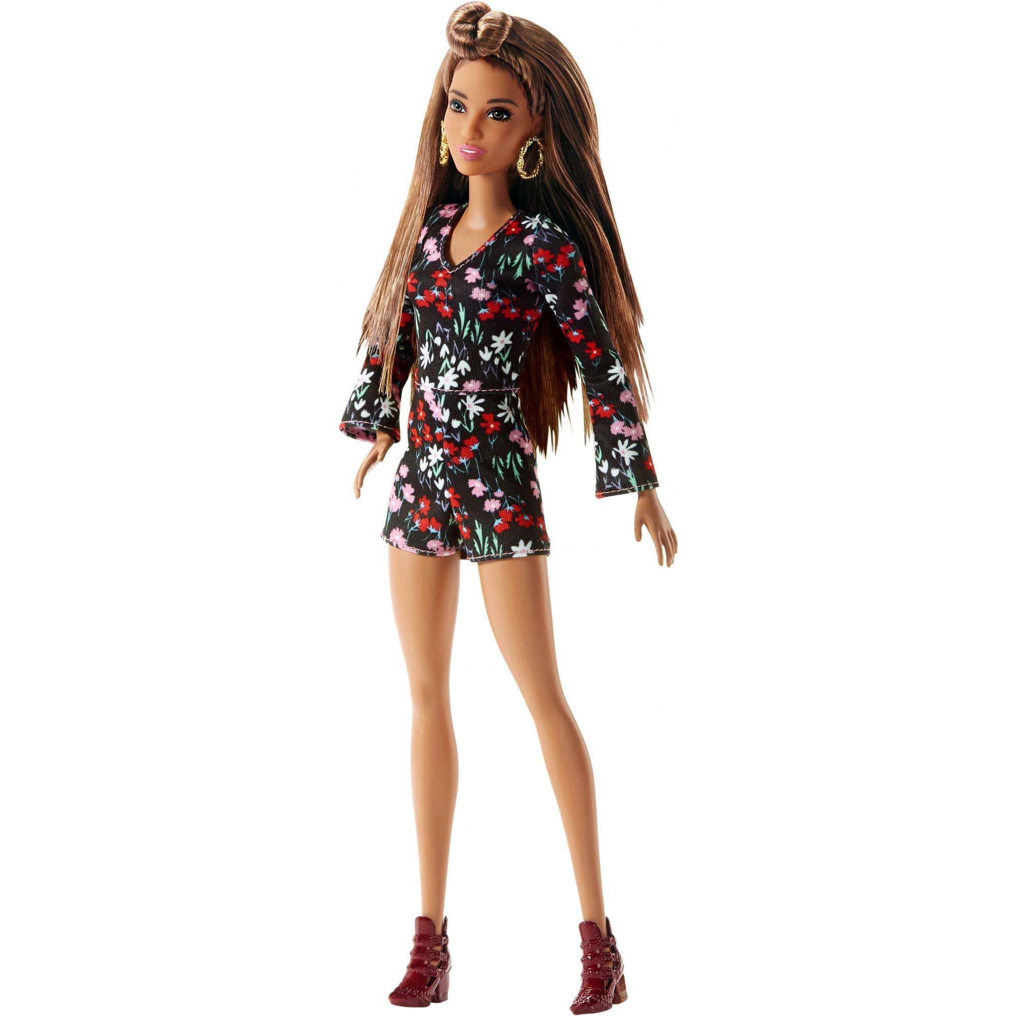 Barbie Fashionistas Doll Rosey Romper by Mattel