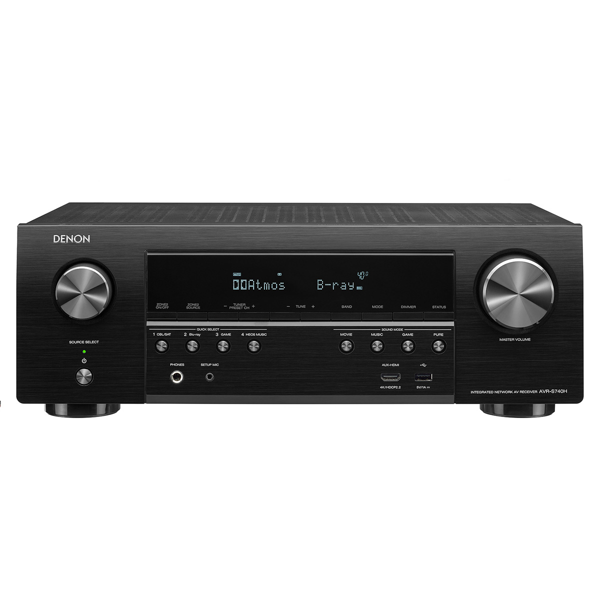 DENAVRS740H Denon AV Receivers Audio & Video Component Receiver BLACK (AVRS740H) by Denon