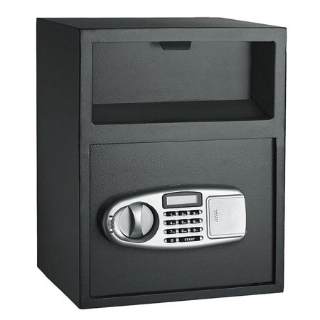 - Ktaxon Home Office Digital Safe Box Depository Drop Deposit Front Load Cash Vault Lock