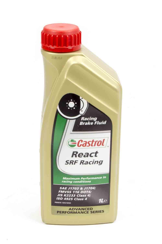 Allstar Performance Castrol SRF React DOT 4 Brake Fluid 33.8 oz Each P N 78115 by ALLSTAR PERFORMANCE