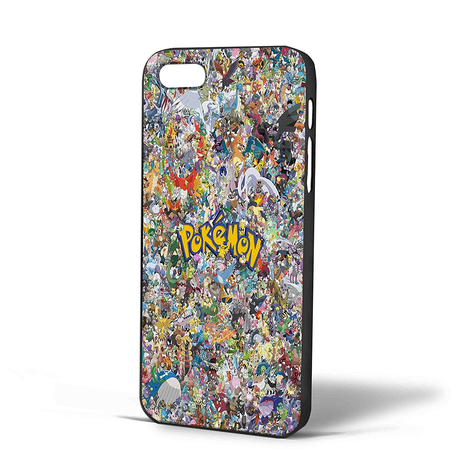 Ganma All Charakter Pokemon Case For iPhone Case (Case For iPhone 6s plus White)
