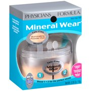 Physicians Formula Mineral Wear Illuminating Powder Duo SPF 16, Natural/Beige