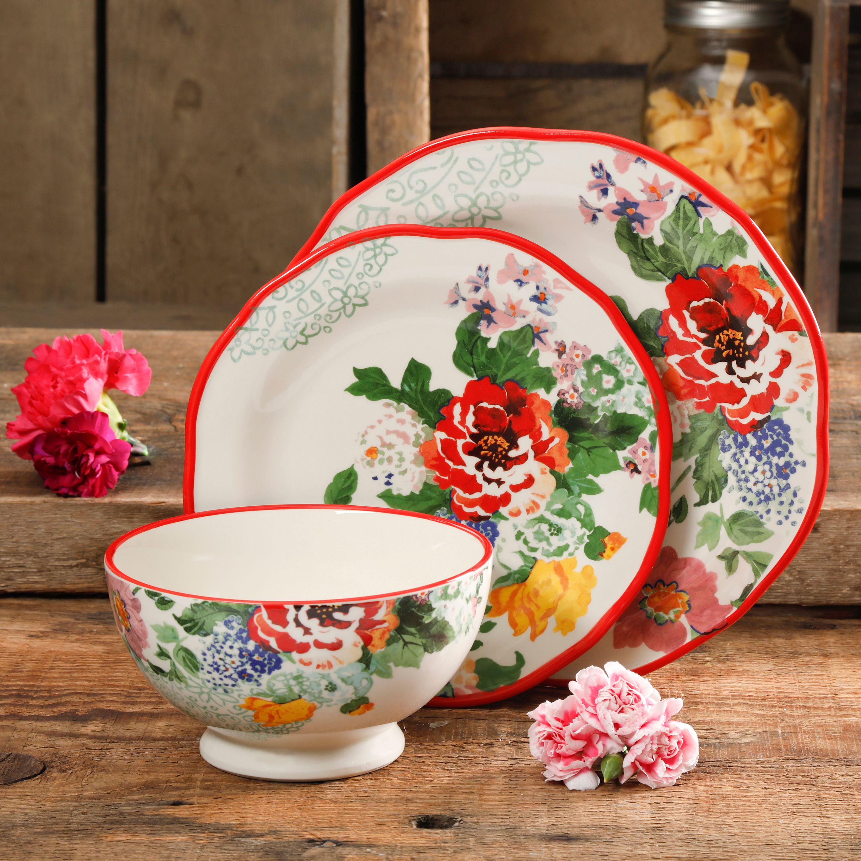 "Tabletops Invitations Denim Salad Plates 7 5//8/"" GREAT CONDITION 4 FOUR"
