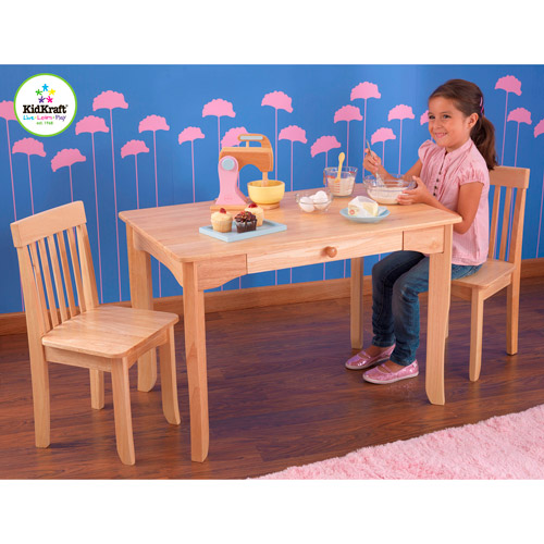 KidKraft - Avalon Table and Chair Set, Natural
