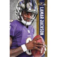 Lamar Jackson Baltimore Ravens 22'' x 34'' Player Poster
