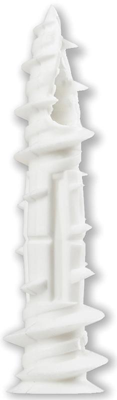 Wallgripper 750M Wall Anchor With Screw, NO 8 x 2-1 4 in, Nylon by COBRA ANCHORS