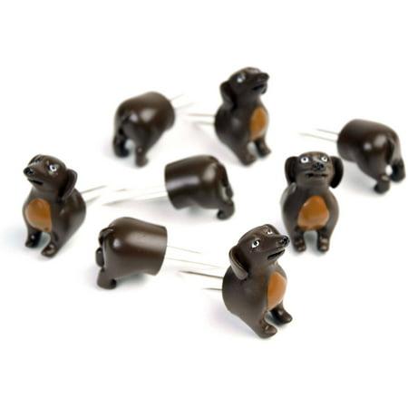The Charcoal Companion Dog Corn Holders, Set of 4, CC5009