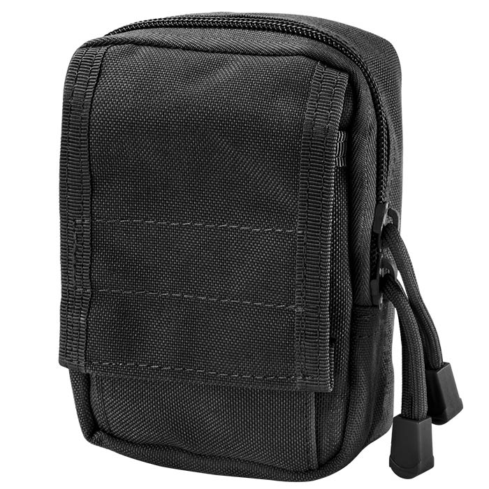 Loaded Gear Tactical Molle EDC Military Pouch (Black)