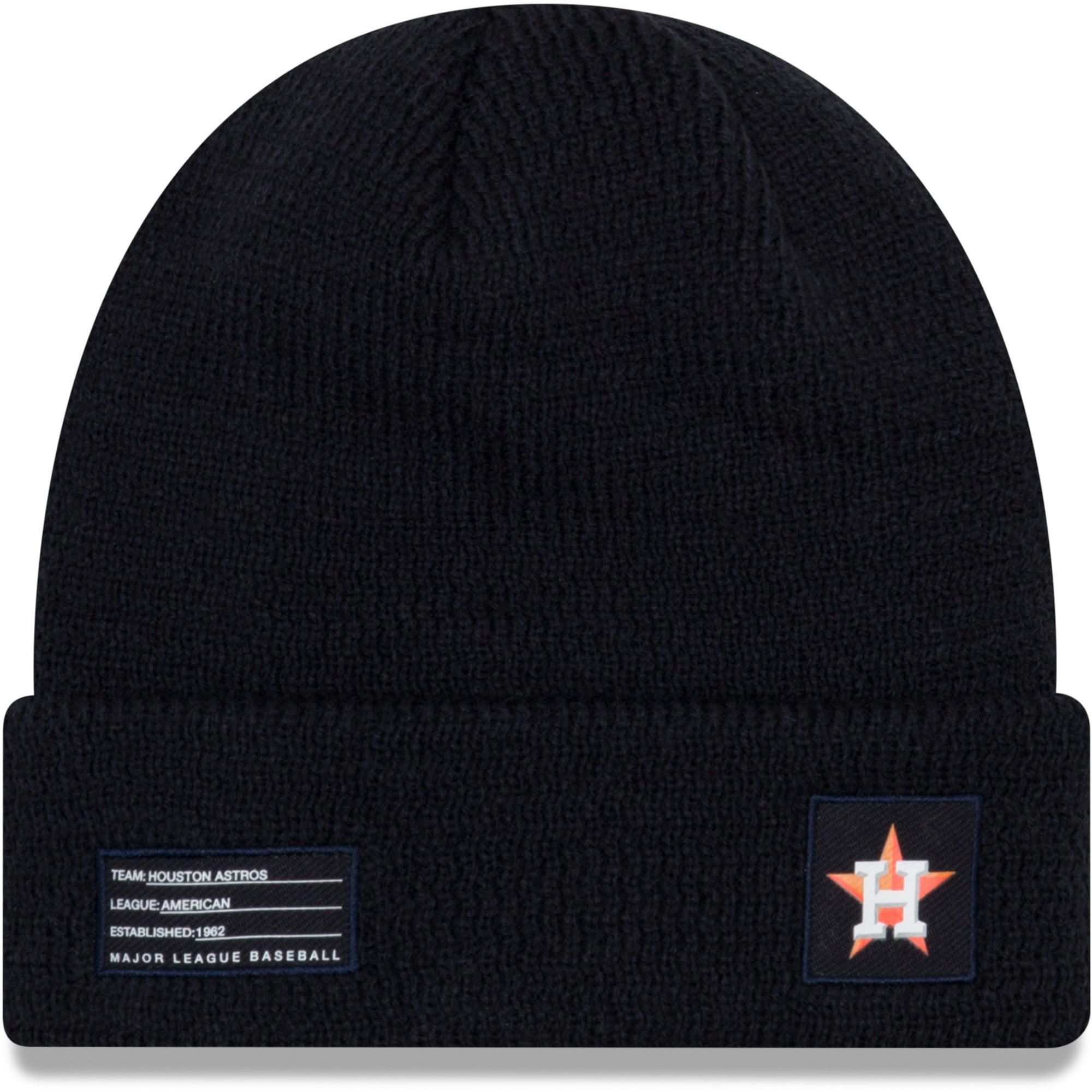 Houston Astros New Era On-Field Sport Cuffed Knit Hat - Navy - OSFA