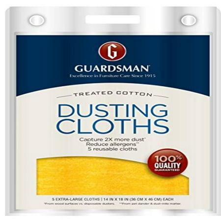 Guardsman Wood Furniture Dusting Cloths 5 Pre Treated