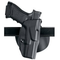 SAFARILAND 6378 ALS PADDLE HK USP COMPACT 9/40 THERMOPLASTIC BLACK