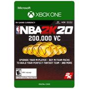 NBA 2K20 200,000 VC, 2K Games, Xbox [Digital Download]