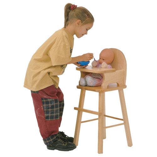 J.B. Poitras Maple Doll High Chair