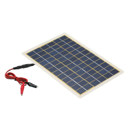 DC5V/DC18V 15W Portable Solar Power Energy Charging Panel USB Interface IP65 Water Resistance Necessities for Outdoor Camping Hiking