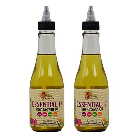 Essential Natural - Alikay Naturals Essential 17 Hair Growth Oil 8oz