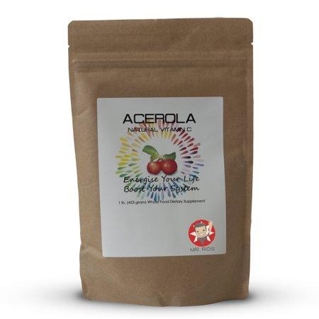 Natural Vitamin C Acerola Powder (Acerola Plus Vitamin)