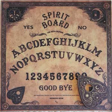 Party Games Accessories Halloween Séance Board Talking Spirit Board Traditional Old World Style Nemisis](Homemade Halloween Games)