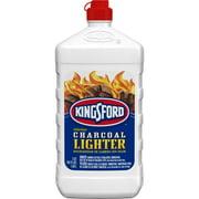 Kingsford Odorless Charcoal Lighter Fluid Bottle, Lighter Fluid for BBQ Charcoal - 64 Fluid Ounces