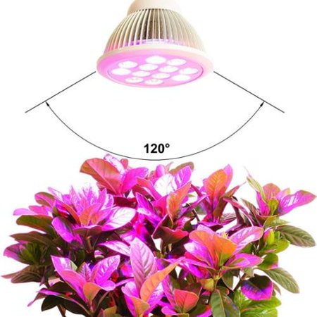 E27 24W LED Grow Light Bulb High Efficient Hydroponic Plant Grow Lights System for Garden Greenhouse