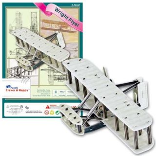 The Wright Flyer Wright Brothers Kitty Hawk Plane 3 D Model Kit