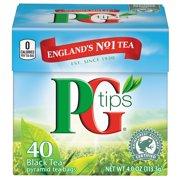 PG tips Premium Black Tea Black Tea Pyramid Bags 40 ct