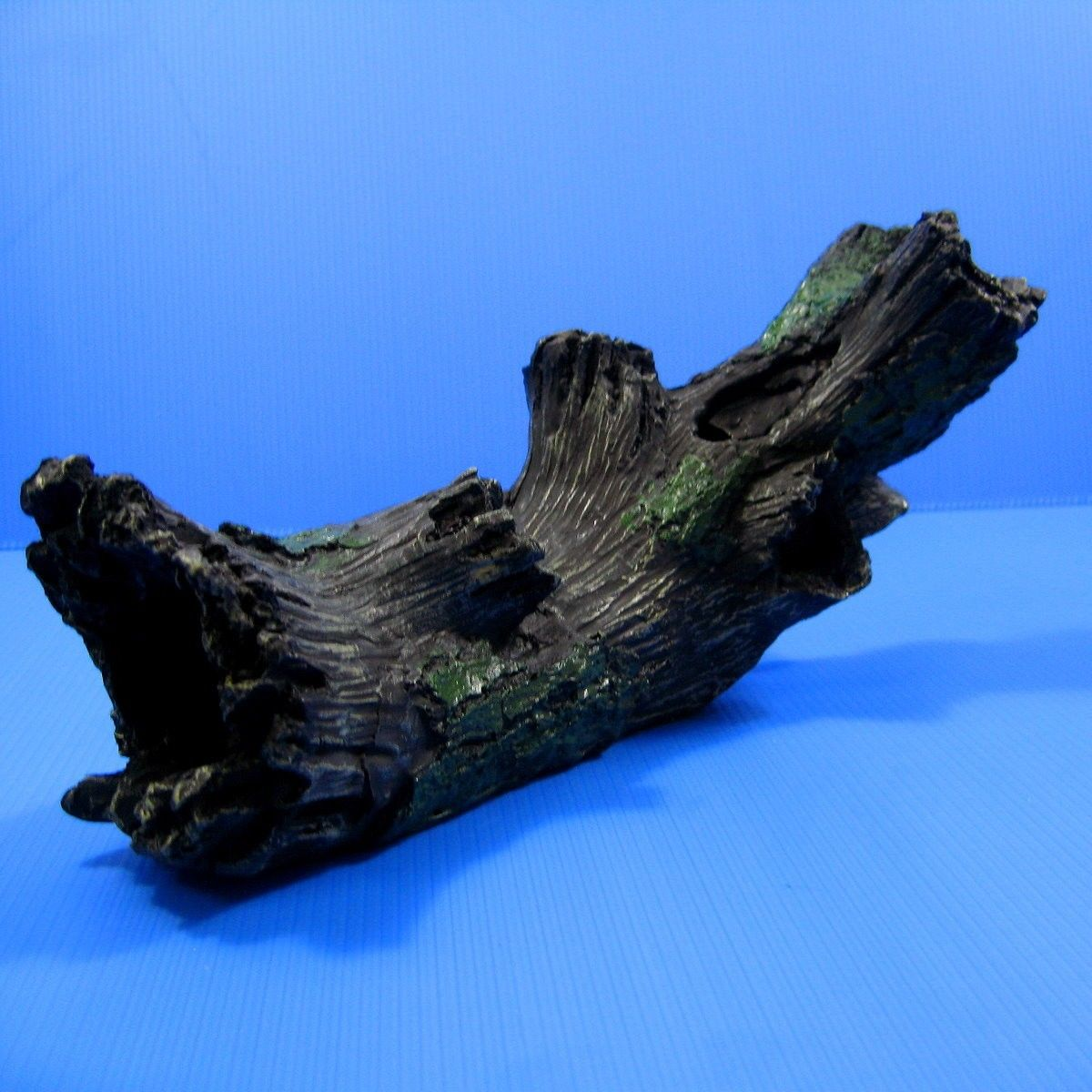 "Decaying Tree Aquarium Ornament 11.8"" Drift Wood Trunk by SU"