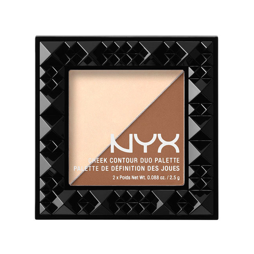 (3 Pack) NYX Cheek Contour Duo Palette 02 Double Date