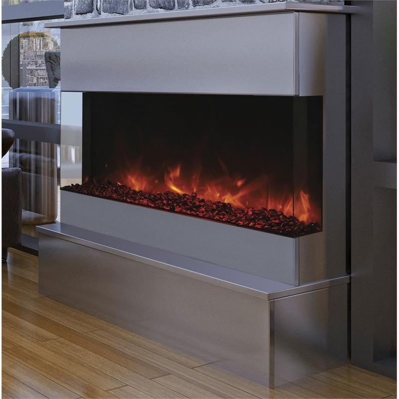"Amantii 3 Sided 40"" Wide Electric Fireplace"