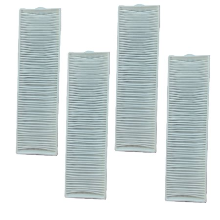 4 Bissell Bagless Upright Vacuum Cleaner Style 8/14 Hepa Pleated Micro Post Motor Exhaust Filter 2036608 3091 Lift-off MultiCyclonic Pet