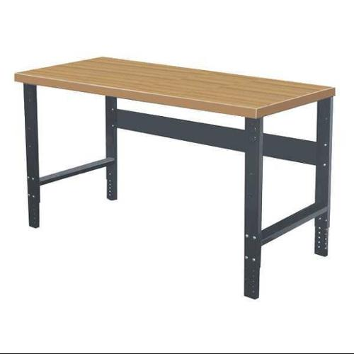 HALLOWELL HWB4830M-ME Workbench, Laminated Hardwood, 48inWx30inD