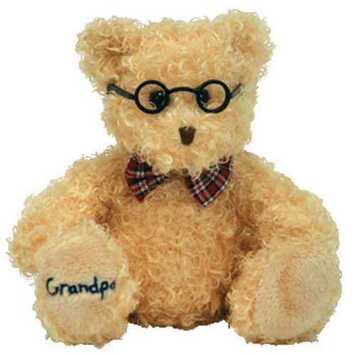 TY Beanie Baby - DEAR GRANDPA the Bear (Hallmark Gold Crown Exclusive) (8.5 inch)
