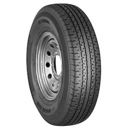 Trailer King II ST Radial ST205/75R14 LRC 6-Ply Rating Tire - Halloween Trailer
