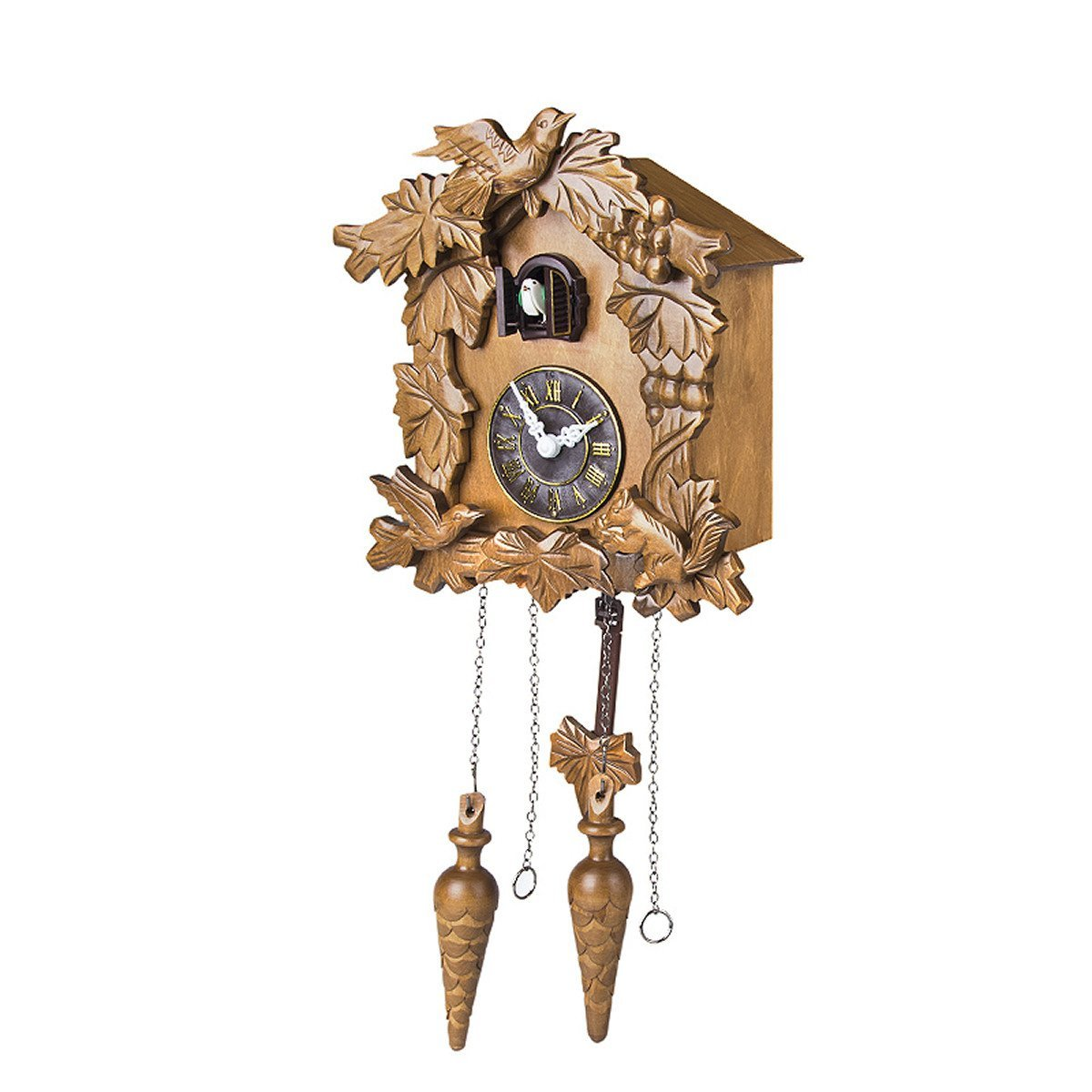 Kendal Handcrafted Wood Cuckoo Clock by