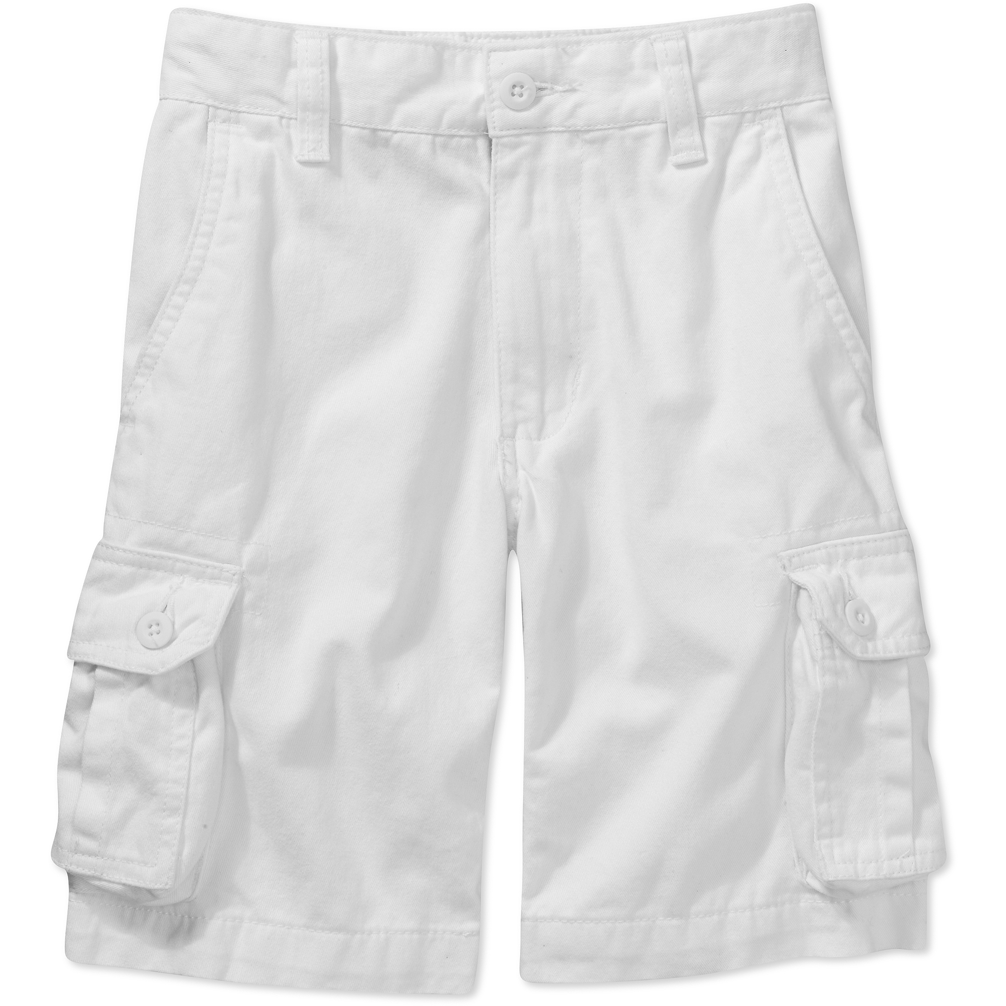 Faded Glory Boys' Solid Cargo Short