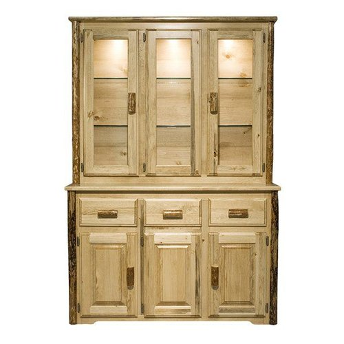 Montana Woodworks MWGCCHLD Glacier Country China Hutch