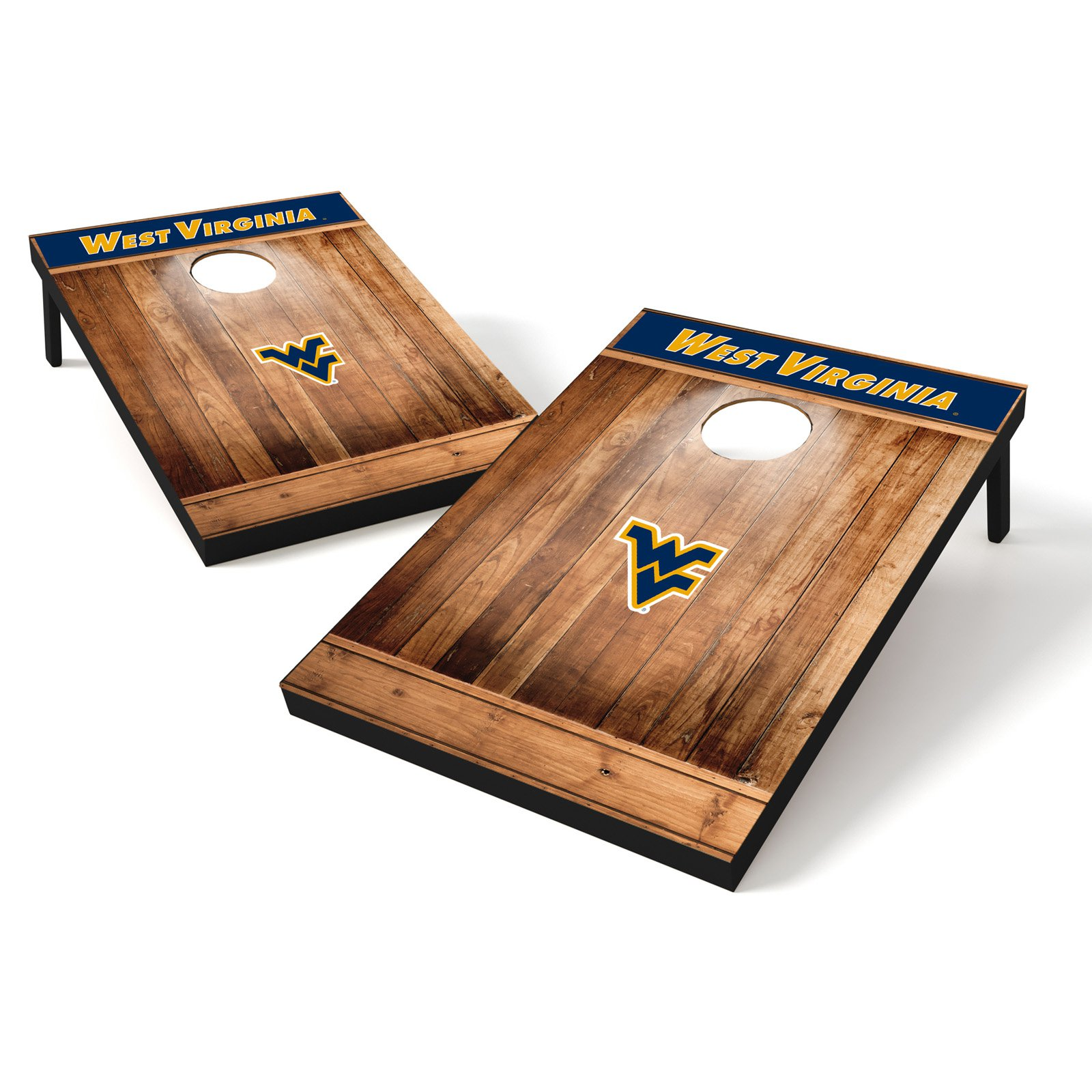 Tailgate Toss Wood Brown College West Virginia Mountaineers