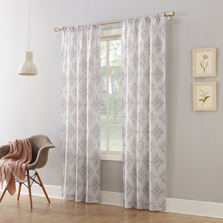 Curtains For A Door (Mainstays Textured Solid Curtain)