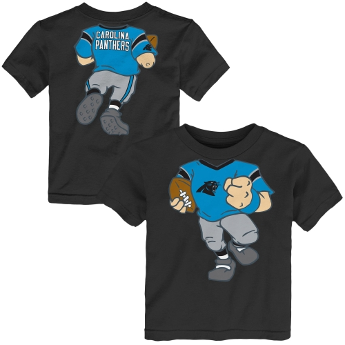 Carolina Panthers Toddler Football Dreams T-Shirt - Black