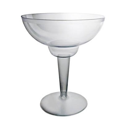 Plastic Margarita Glasses 12 oz 10 Count ()