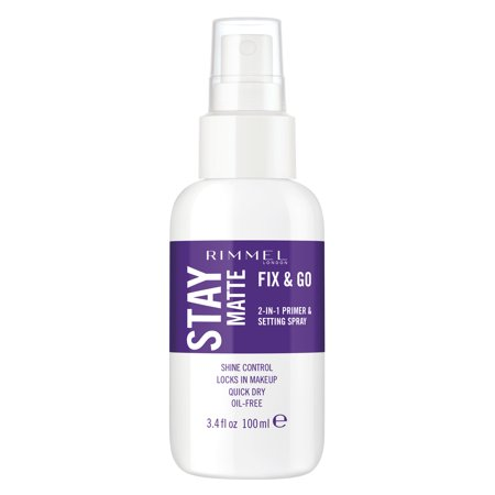 Rimmel Stay Matte Setting Spray, Transparent Setting (Best Setting Spray For Mature Skin)
