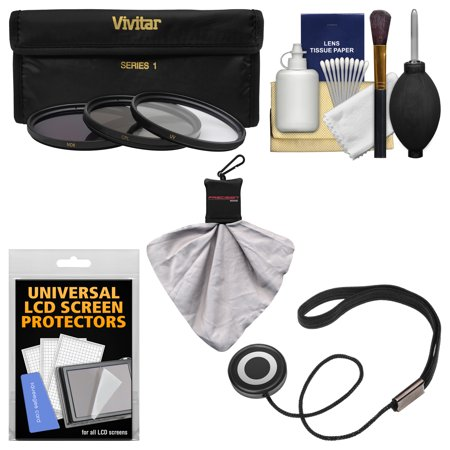 Essentials Bundle for Nikon 1 11-27.5mm f/3.5-5.6 Nikkor-Zoom Lens with 3 (UV/CPL/ND8) Filters + Accessory Kit