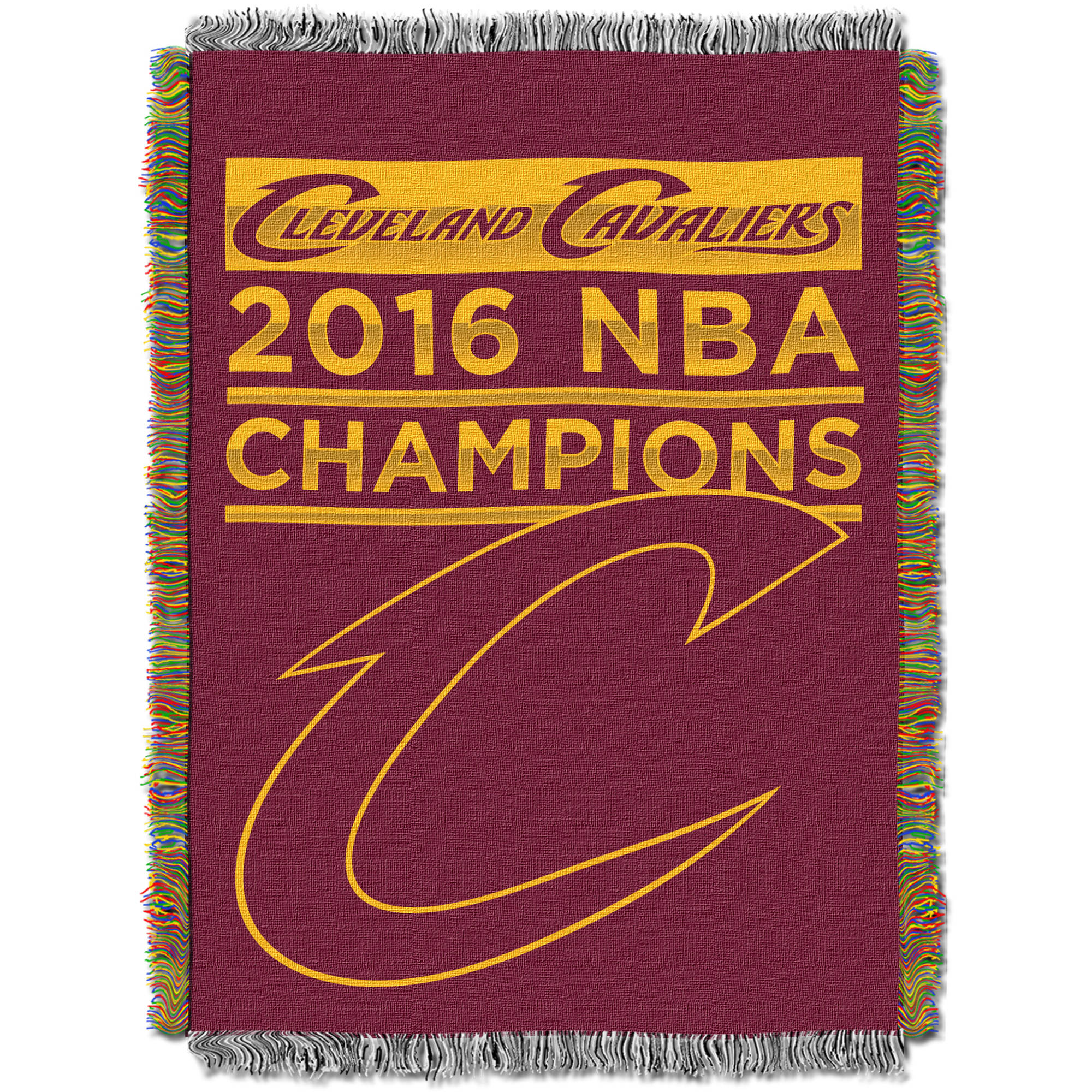 "NBA Cleveland Cavaliers 2016 NBA Champions 48"" x 60"" Tapestry Throw"